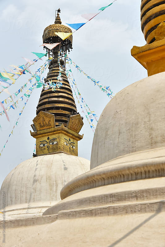 Buddhist stupa of Patan by Bisual Studio for Stocksy United