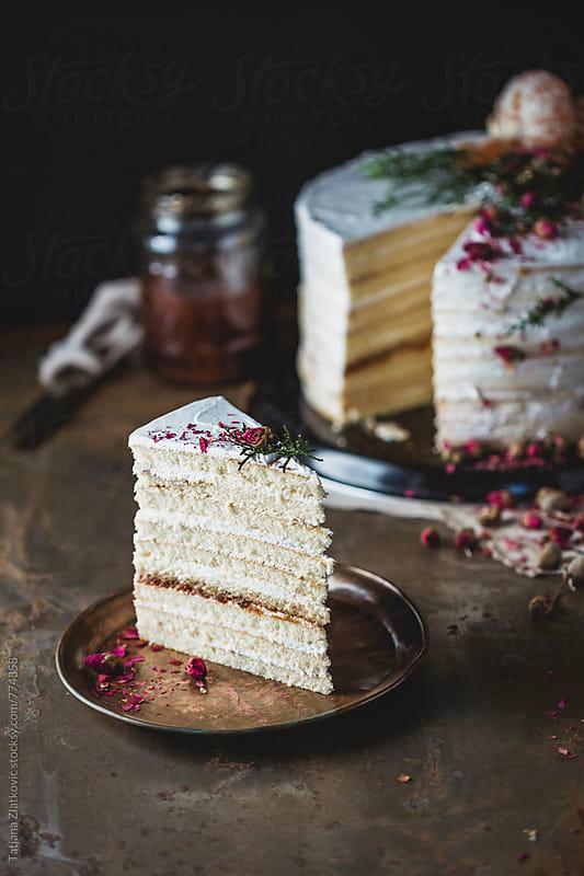 Naked cake by Tatjana Ristanic for Stocksy United