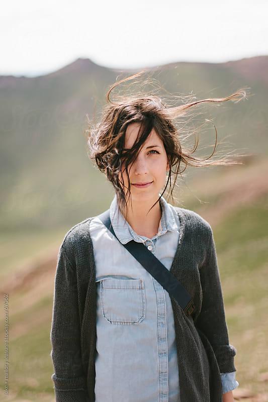 Adventure girl by luke + mallory leasure for Stocksy United