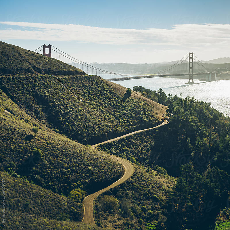 golden gate bridge by yuanyuan xie for Stocksy United