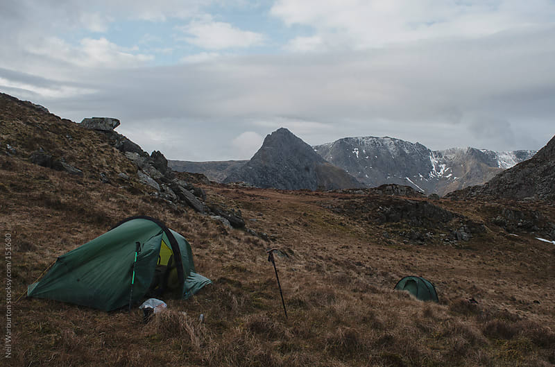 Wild Camping by Neil Warburton for Stocksy United