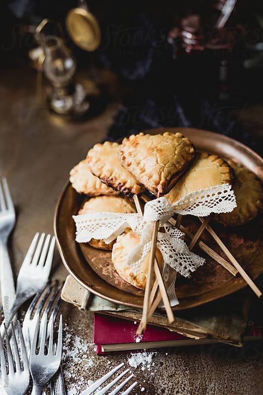 Homemade pie pops by Tatjana Zlatkovic for Stocksy United