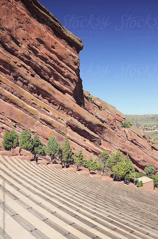 Red Rocks Amphitheatre by Nicholas Moore for Stocksy United