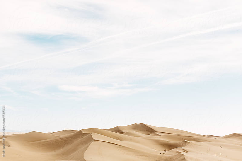 Sand Dunes by Matt and Tish for Stocksy United