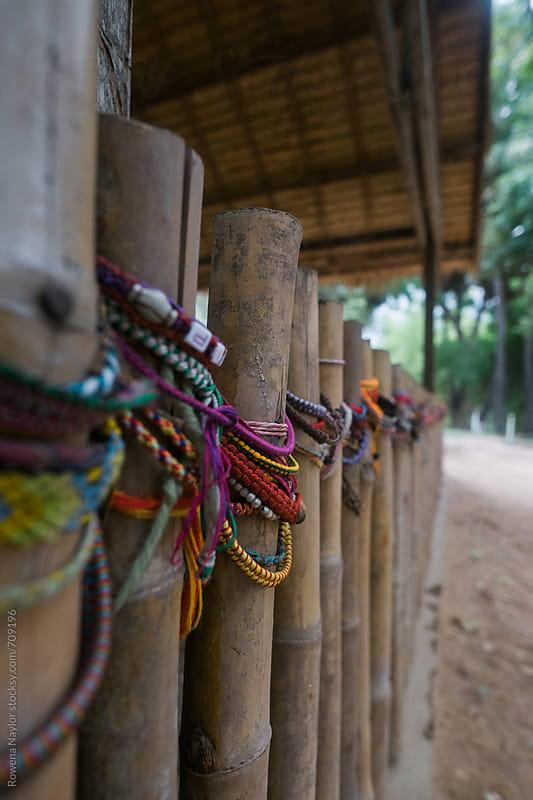 Peace Shrine at The Killing Fields, Phnom Penh, Cambodia by Rowena Naylor for Stocksy United