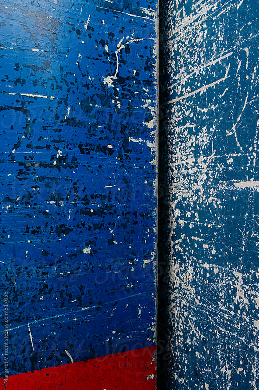 details of worn shipping containers by Margaret Vincent for Stocksy United