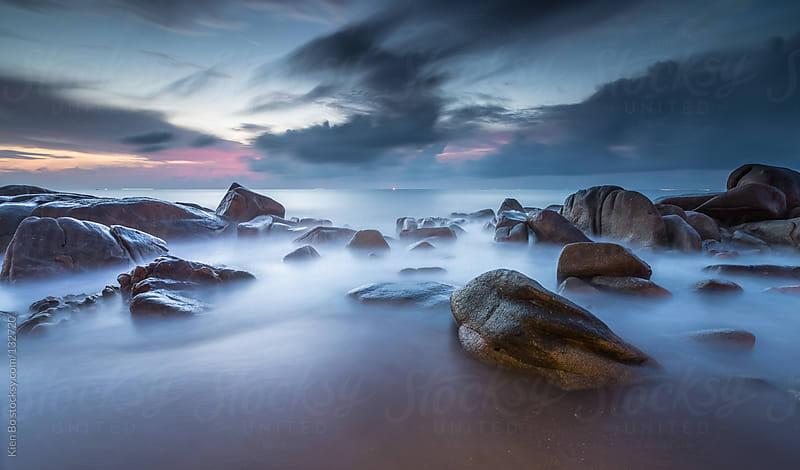 Rocks on cloud by Kien Bo for Stocksy United