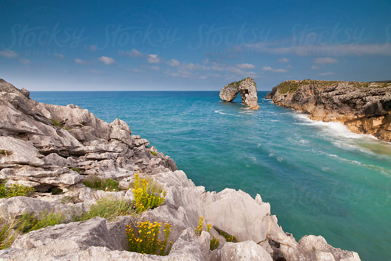 Arch on the Sea by Marilar Irastorza for Stocksy United