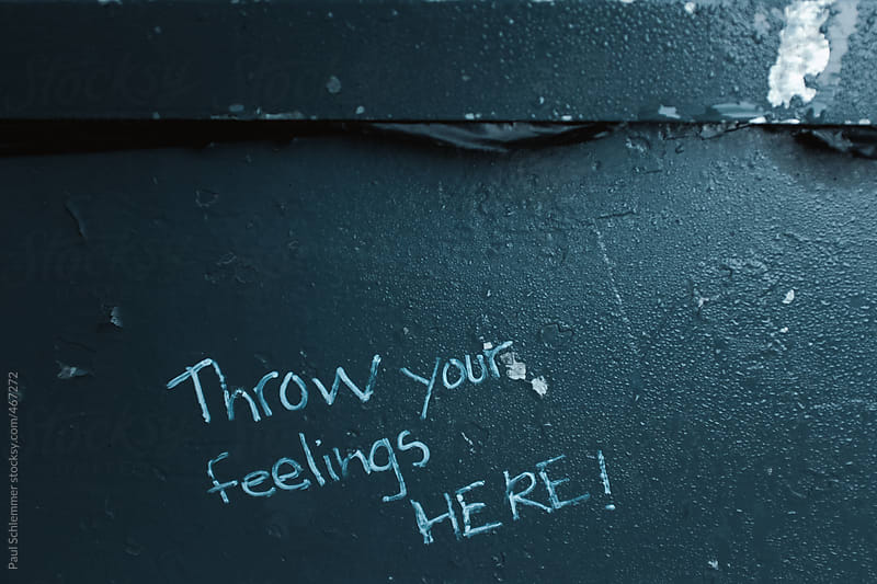 Throw your feelings here! by Paul Schlemmer for Stocksy United