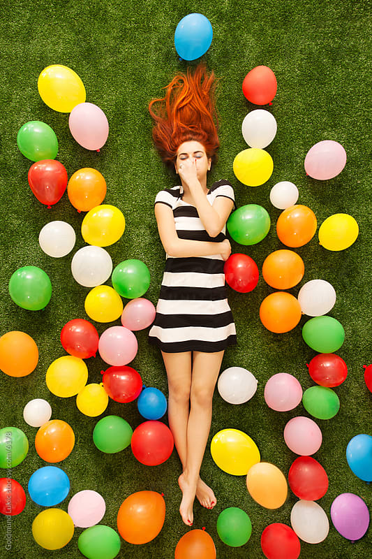 Balloon Fantasy by Goldmund Lukic for Stocksy United