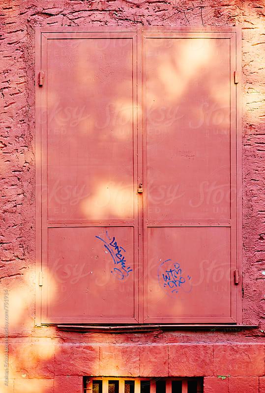 pink door by Atakan-Erkut Uzun for Stocksy United