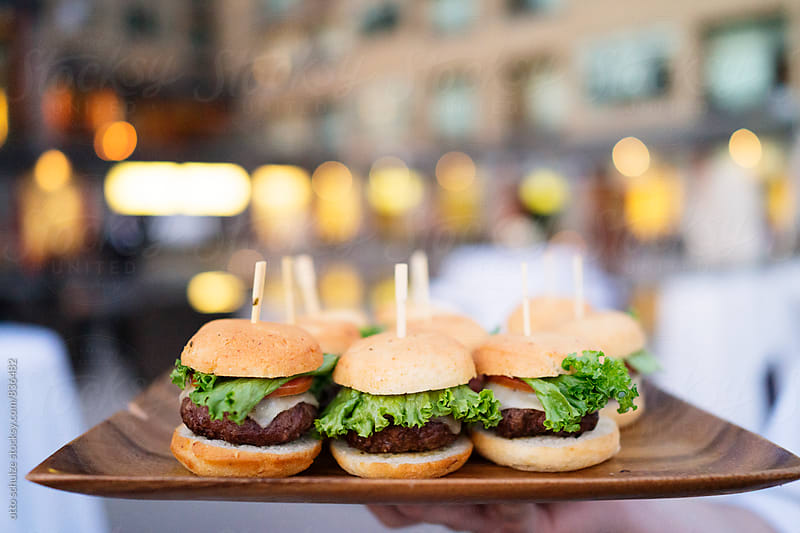 Burger sliders by otto schulze for Stocksy United