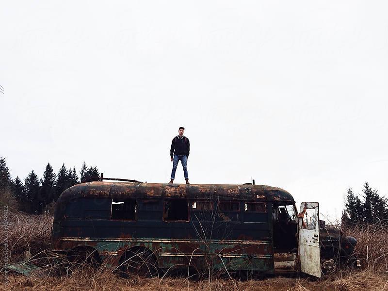 Bus by Sierra Pruitt for Stocksy United