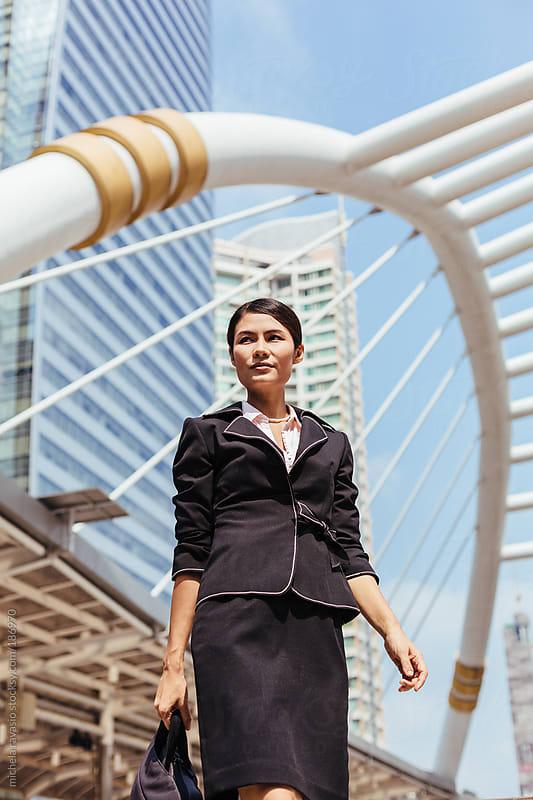 Businesswoman by michela ravasio for Stocksy United