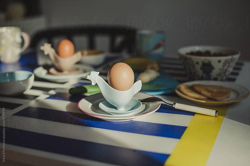 Breakfast egg by Irina Efremova for Stocksy United