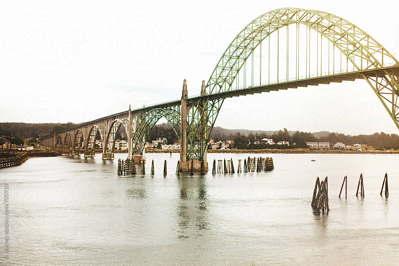 Beautiful Arched Bridge in Oregon by B. Harvey for Stocksy United