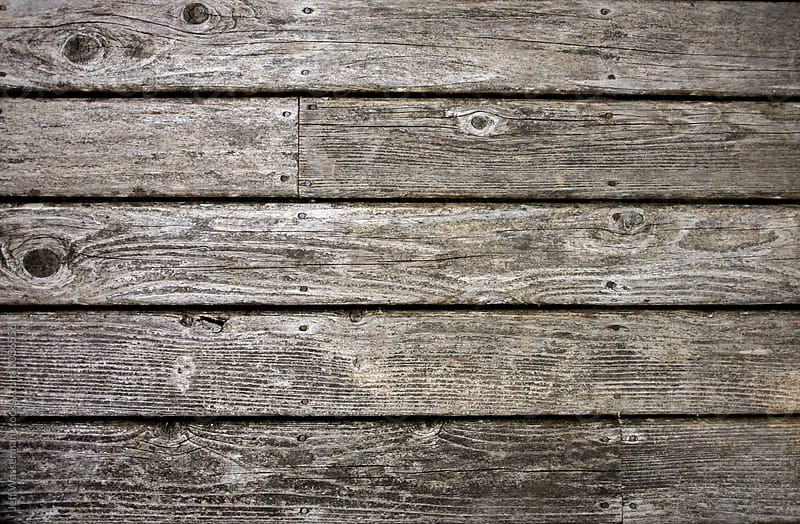 Old Wood Deck for Background  by Jeff Wasserman for Stocksy United
