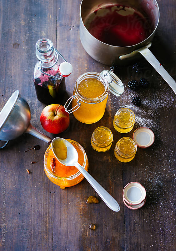 Apple jelly by J.R. PHOTOGRAPHY for Stocksy United