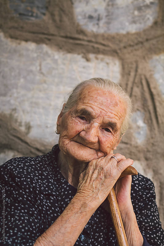 My Grandma by Dejan Ristovski for Stocksy United