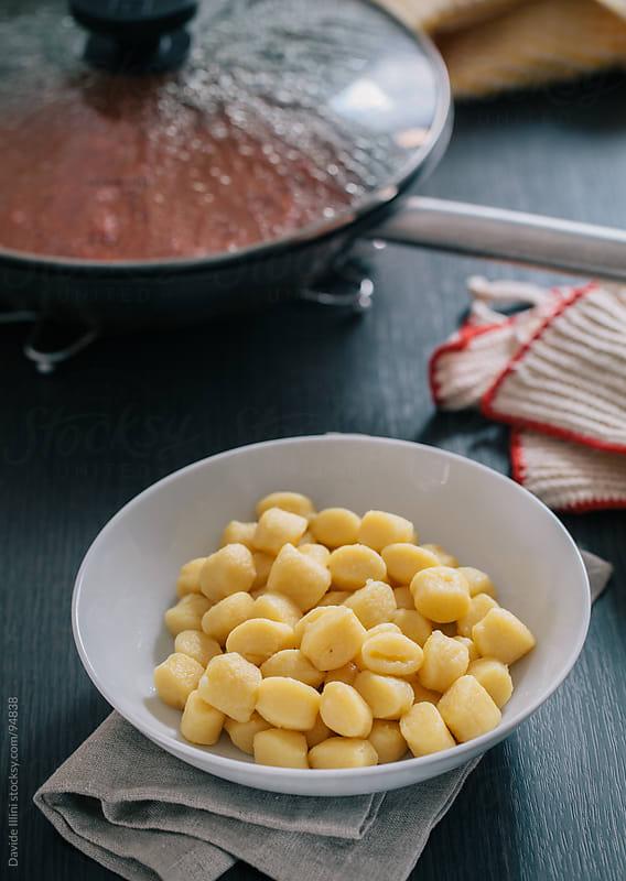 Potato Gnocchi by Davide Illini for Stocksy United