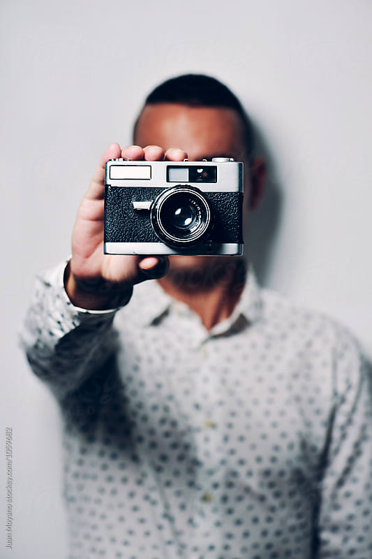 old camera  by juan moyano for Stocksy United