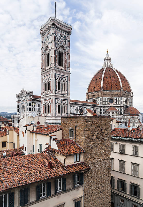Famous Cupola by Brunelleschi in Florence by Juri Pozzi for Stocksy United