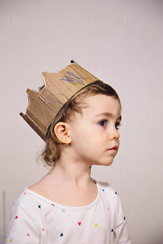 Cardboard Queen by Ali Lanenga for Stocksy United
