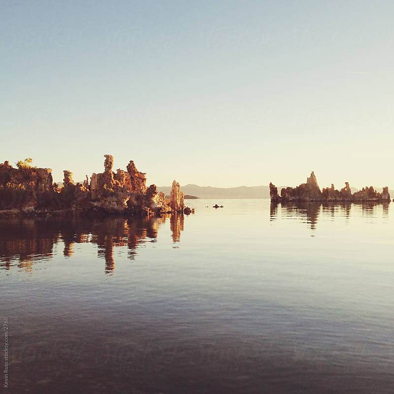 Morning Mono Lake Reflection by Kevin Russ for Stocksy United