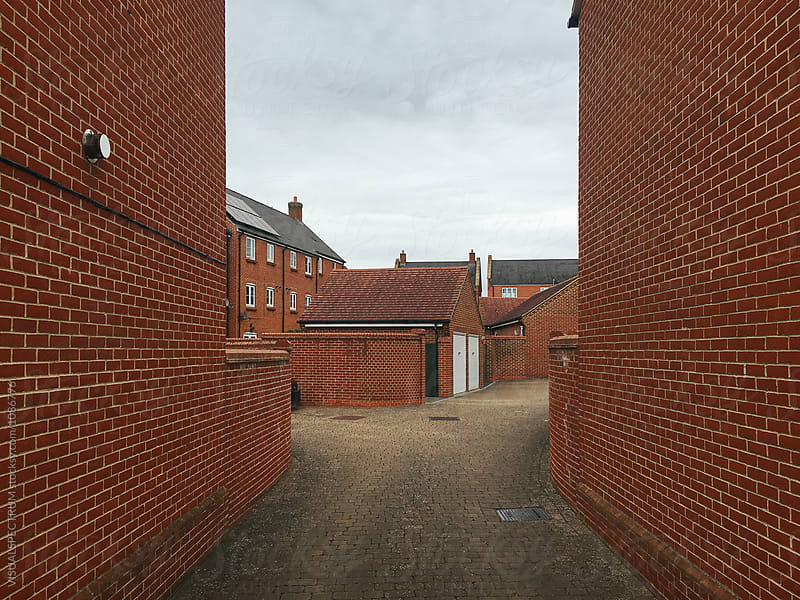 Exposed Brick Neighborhood in United Kingdom by Julien L. Balmer for Stocksy United