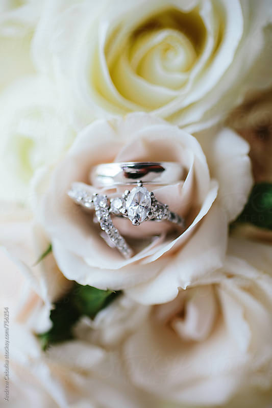 Wedding Rings by Andrew Cebulka for Stocksy United