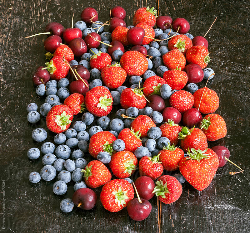 Hand picked home grown Fruits. by Darren Muir for Stocksy United