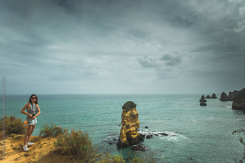 Beautiful Portuguese Coastline by Maximilian Guy McNair MacEwan for Stocksy United