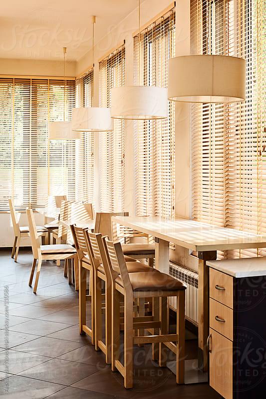Restaurant by Aleksandar Novoselski for Stocksy United