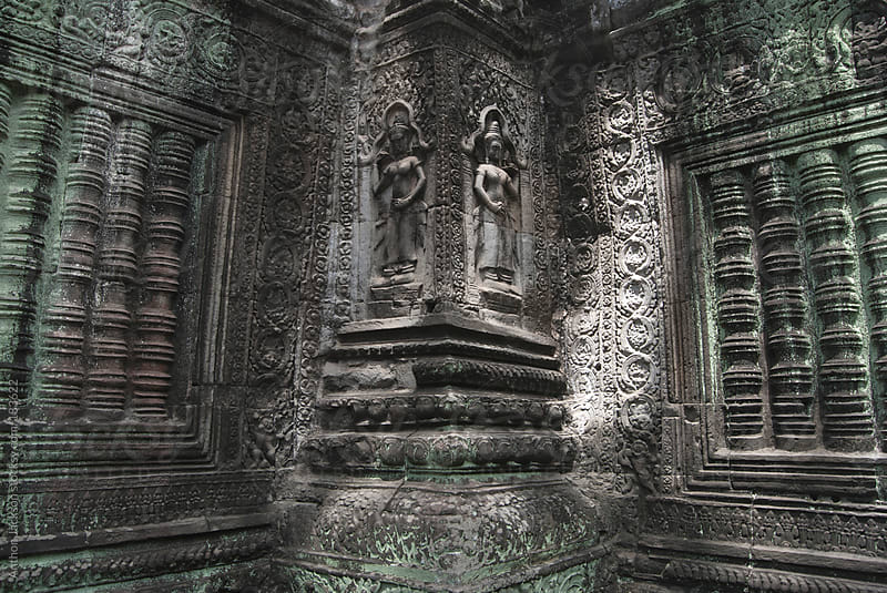 Angkor Detail by Anthon Jackson for Stocksy United