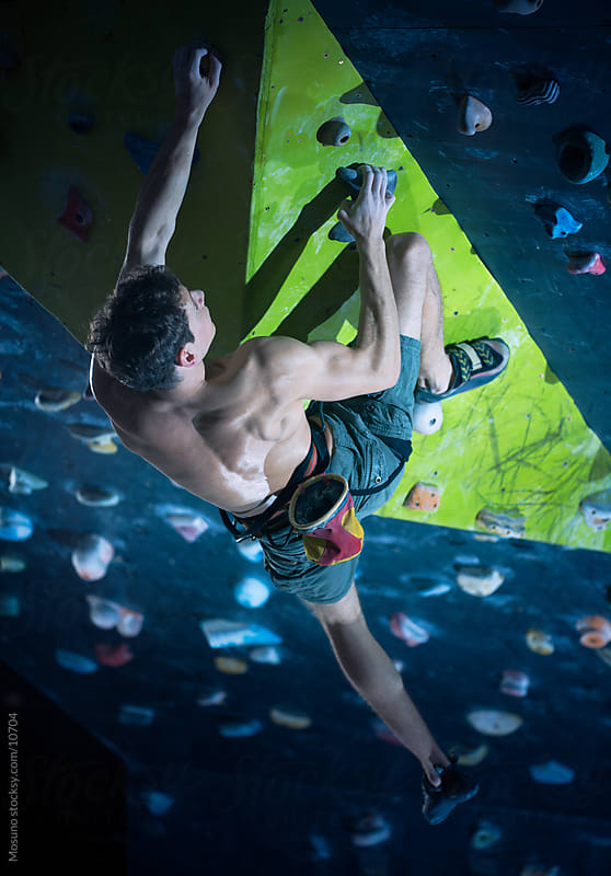 Free Climber Indoors by Mosuno for Stocksy United