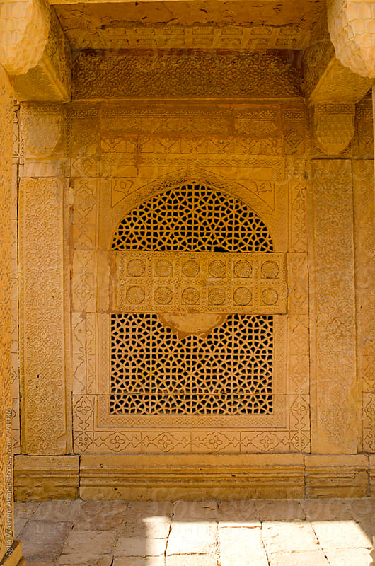 Mirza Isa Khan Tarkhan, Makli Necropolis by Agha Waseem Ahmed for Stocksy United