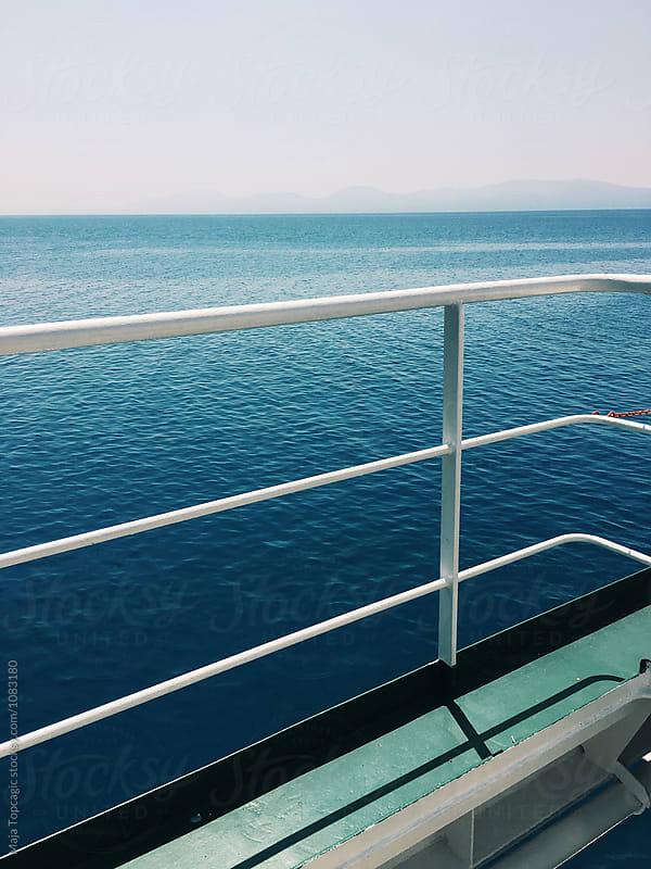 Ferry boat drive by Maja Topcagic for Stocksy United