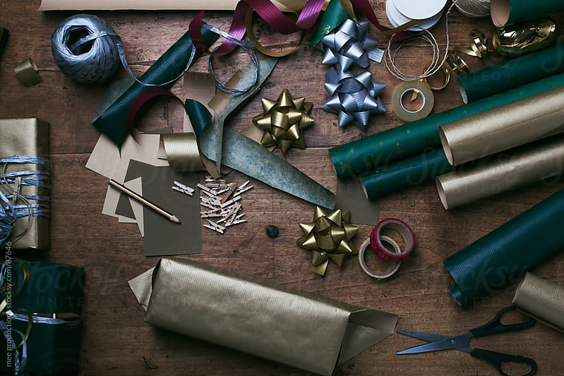 Christmas still life by mee productions for Stocksy United