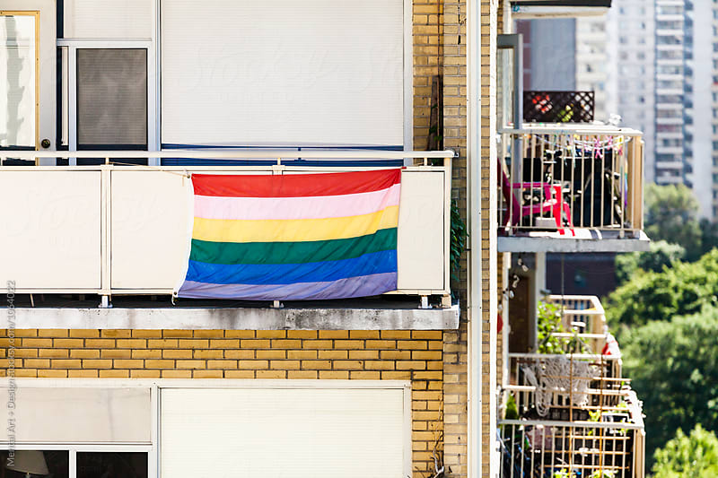 Gay Pride Flag by Mental Art + Design for Stocksy United
