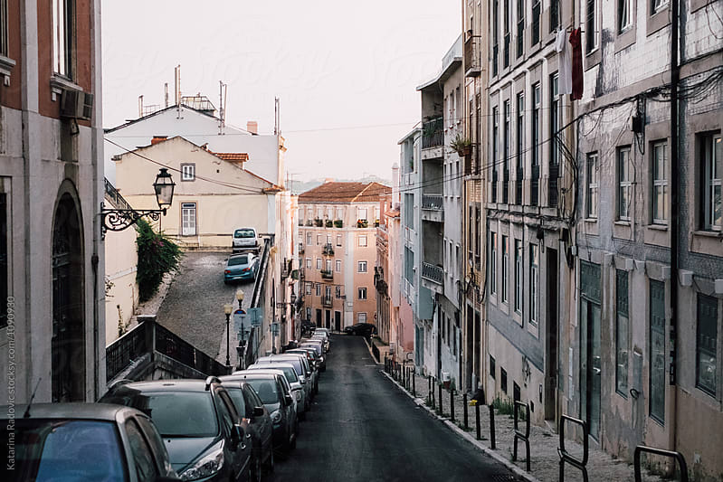 Lisbon, Portugal Street by Katarina Radovic for Stocksy United
