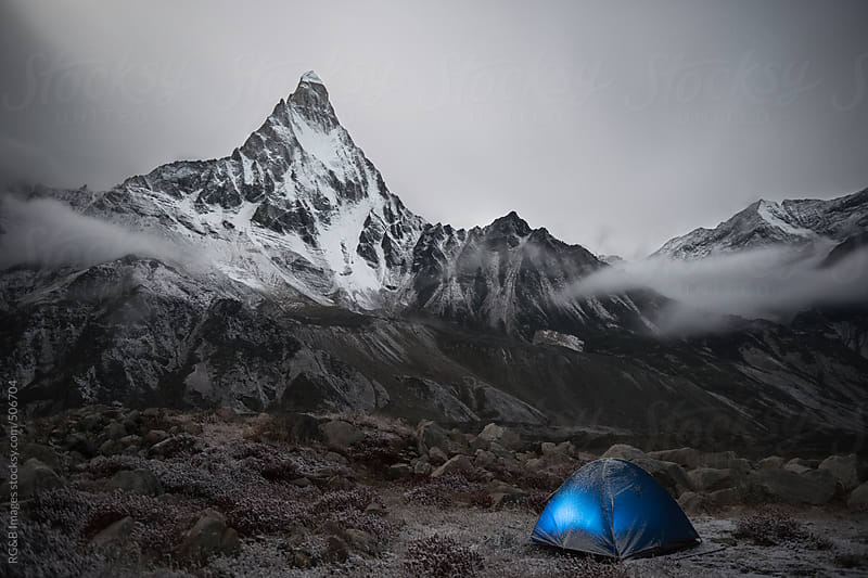 Himalaya expedition by RG&B Images for Stocksy United