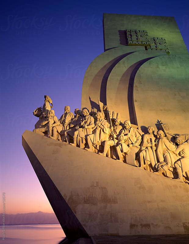 Monument to the Discoveries. Lisbon. Portugal. by Hugh Sitton for Stocksy United