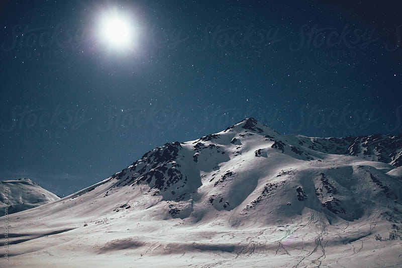 Hatcher Pass Moonlight by Jake Elko for Stocksy United