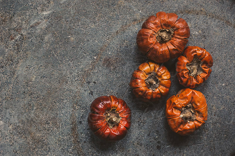 Pumpkin Shaped pepper by Gabriel (Gabi) Bucataru for Stocksy United