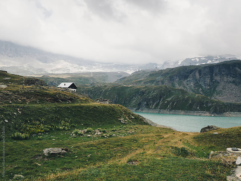 Lake in the Mountains by Milena Milani for Stocksy United