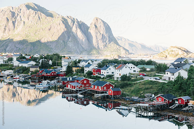 Reine, Lofoten by Agencia for Stocksy United