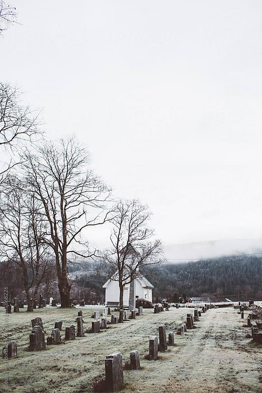 Cemetery  by Sophia van den Hoek for Stocksy United