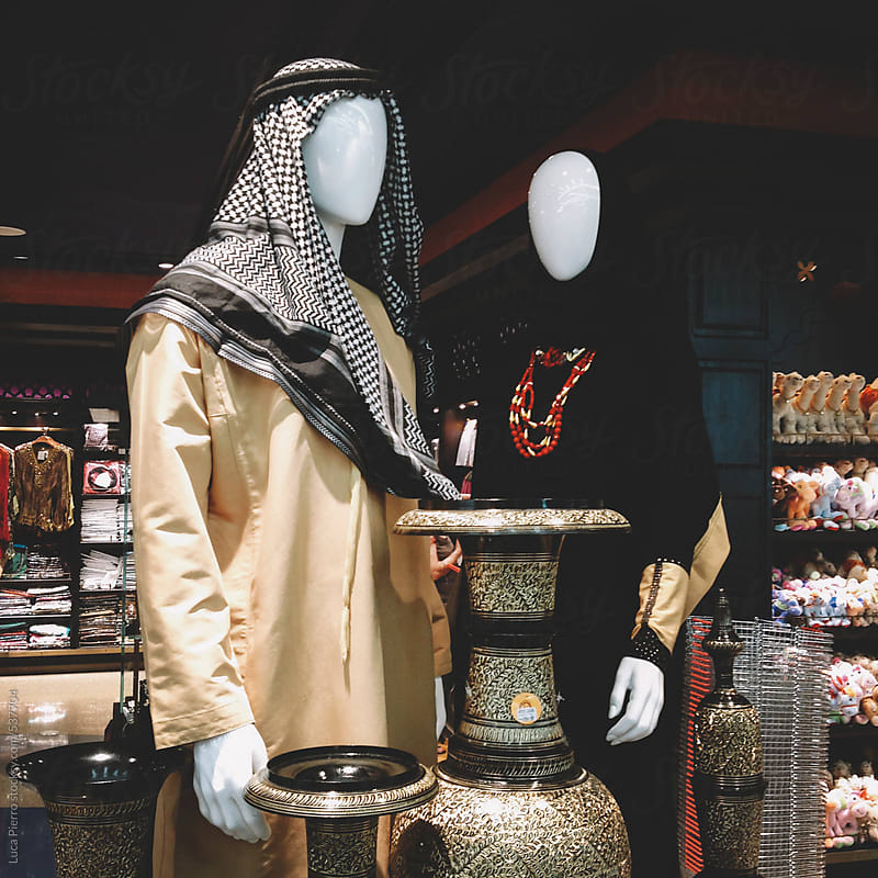 Dummies in a store in Dubai by Luca Pierro for Stocksy United