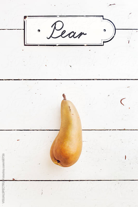 Pear by VISUALSPECTRUM for Stocksy United
