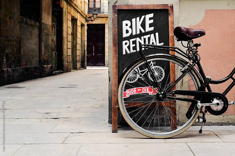bike rental by juan moyano for Stocksy United